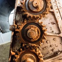 These gears have seen quite some action.
